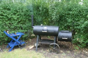 BBQ Smoker als Barrel Smoker